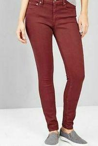 GAP Resolution True Skinny Jeans in Rust Size 29